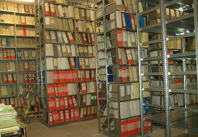 scaffali archivio di stato