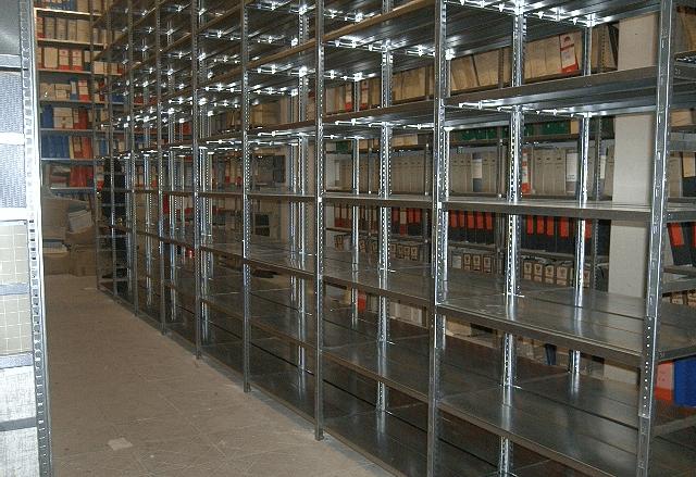 scaffalature in metallo