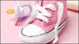 scarpine rosa da bambina