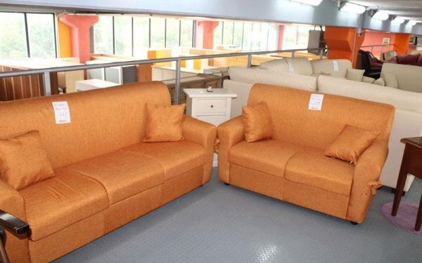 divani arancioni