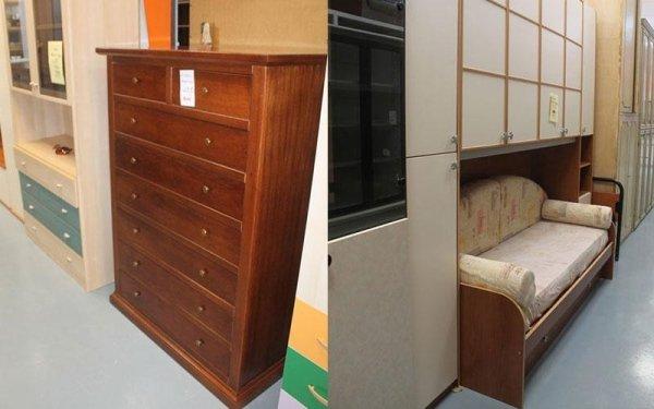 mobili incassati e cassettiere