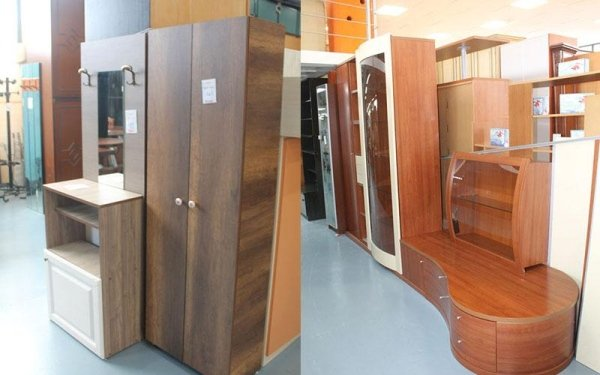 armadietti da sala in legno