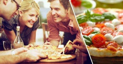 pizza a pranzo per comitive