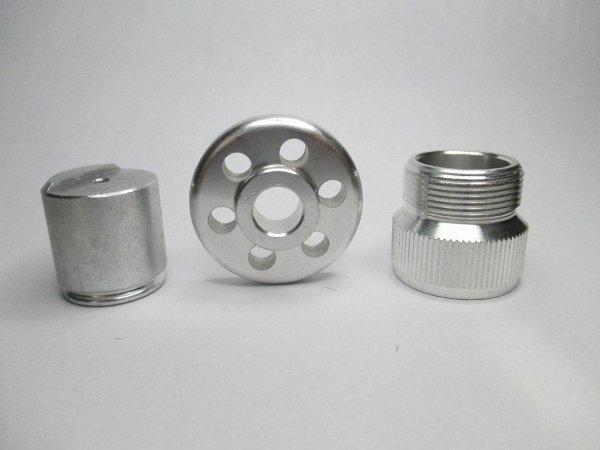 Aluminum: alloys 2011 - 6026 - 6082 - 7075