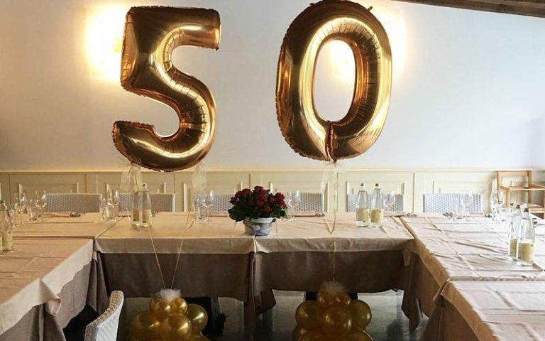 Palloncini per cinquanta anni