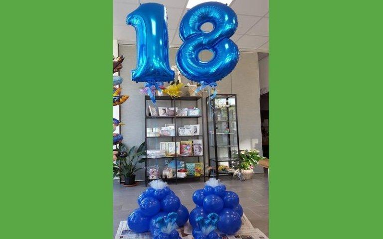 Palloncini per i diciotto anni
