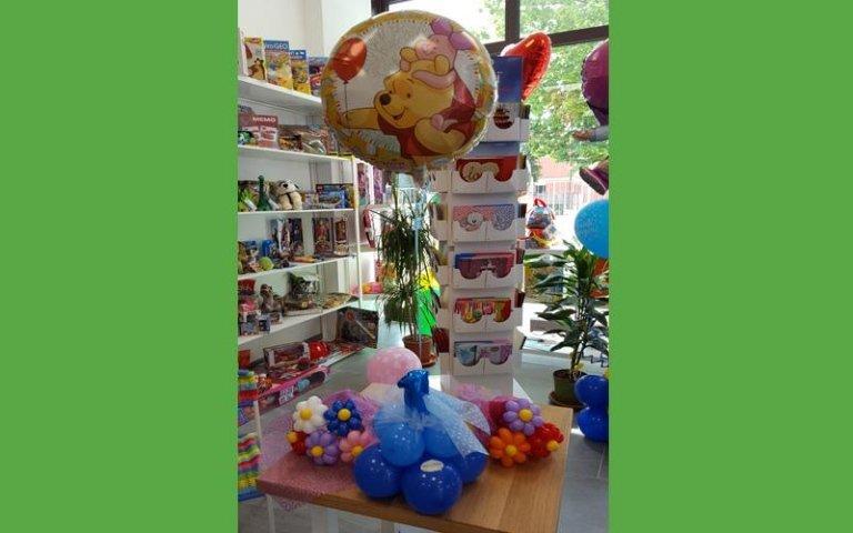 Decorazioni e palloncini per feste di bambini