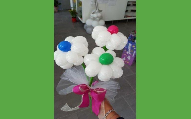 Palloncini a forma di fiore