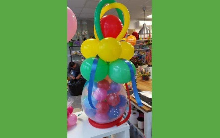 Scenografie con palloncini per feste