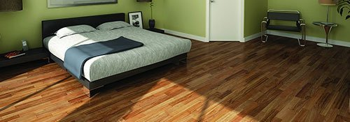 Hardwood flooring in business