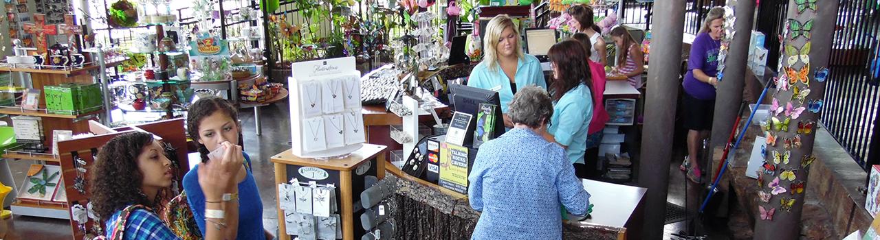 The Butterfly Palace & Rainforest Adventure - Gift Shop - Branson, Missouri