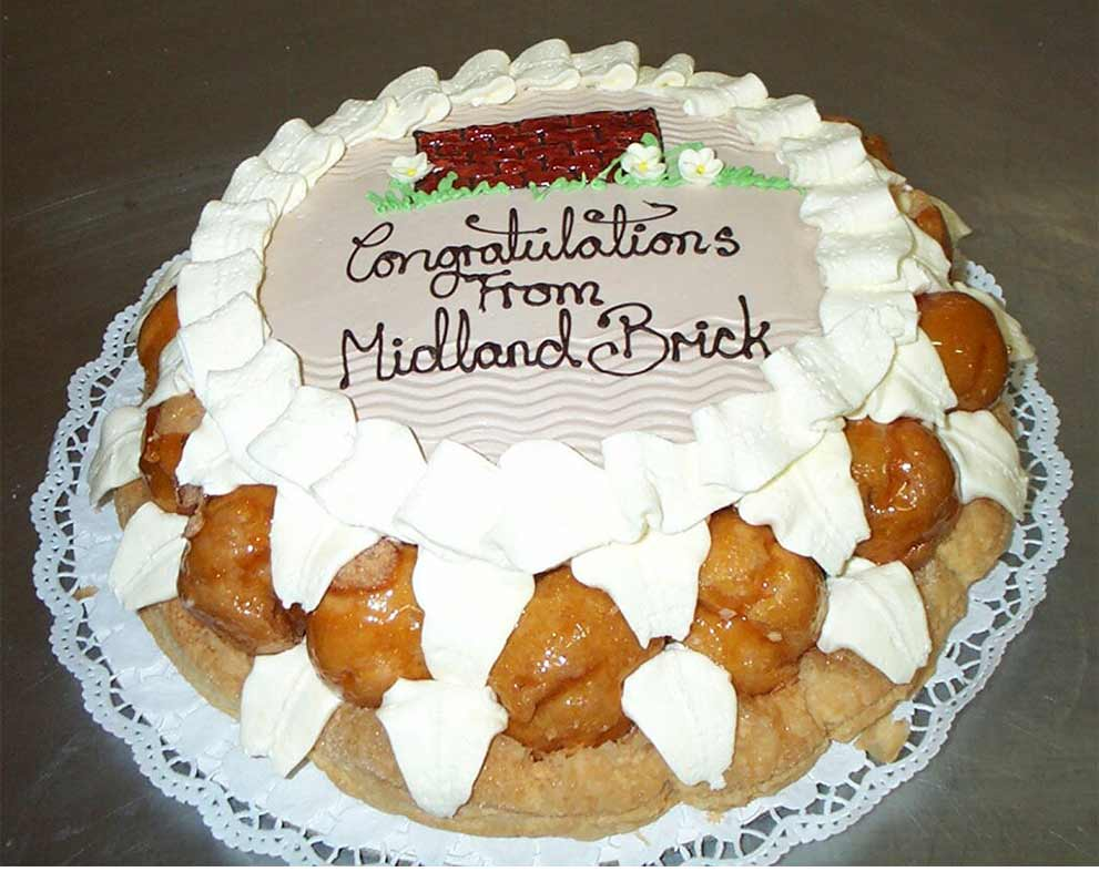 The St Honore Birthday Cake