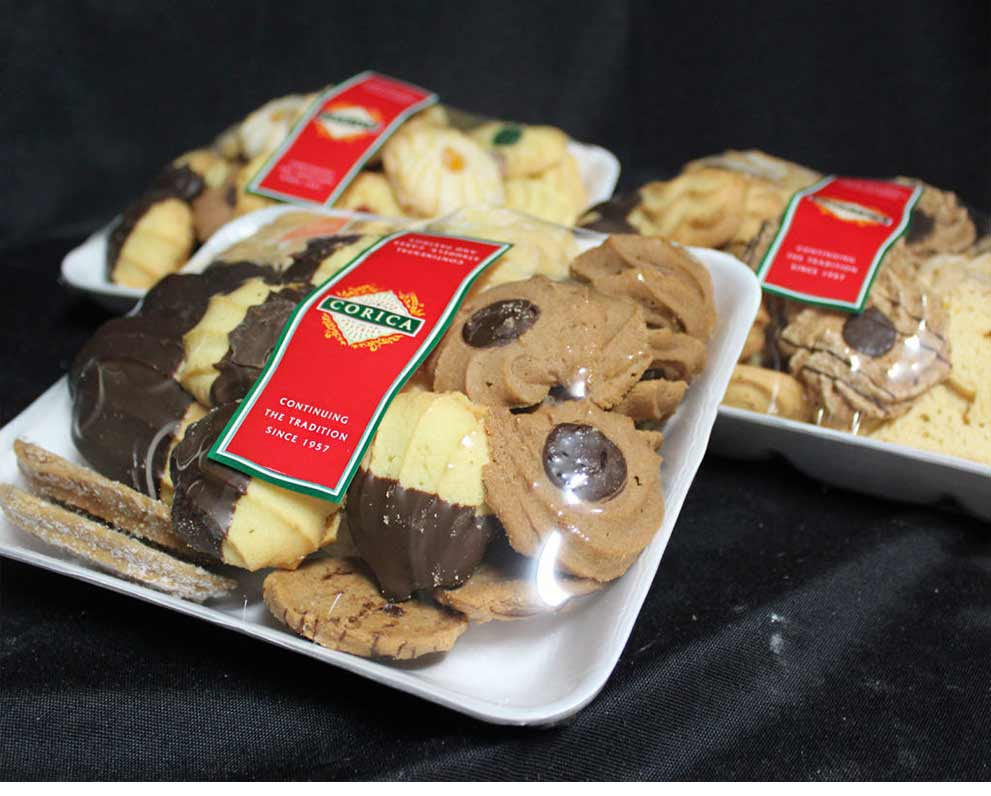 Mixed Shortbread Biscuits