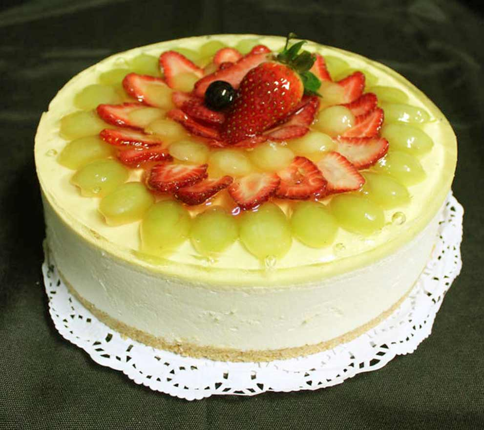 fruit-cheesecake