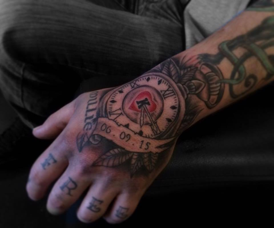 tattoos for hand