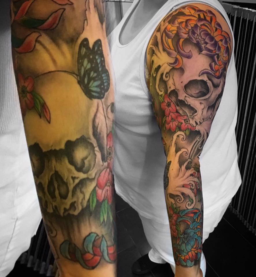 colourful tattoo