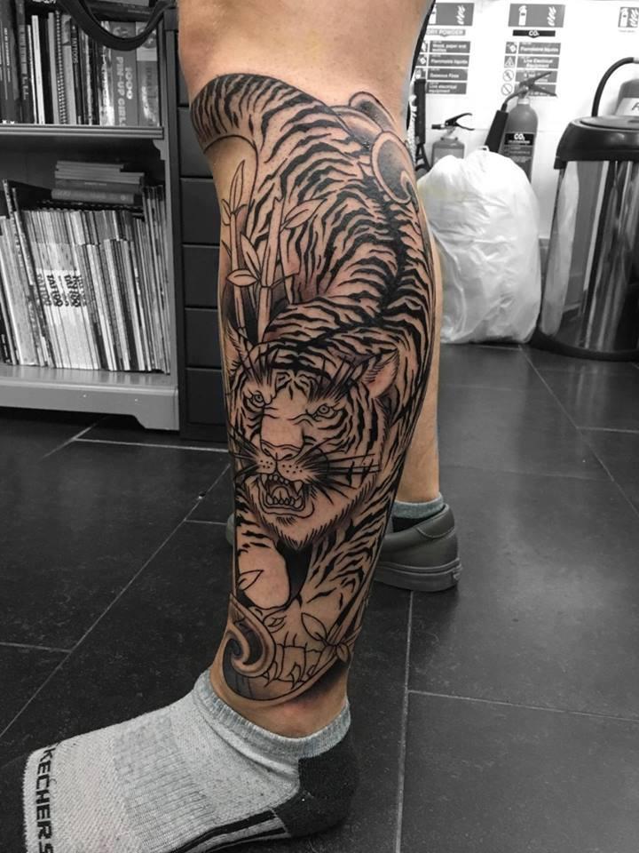 tattoos for leg