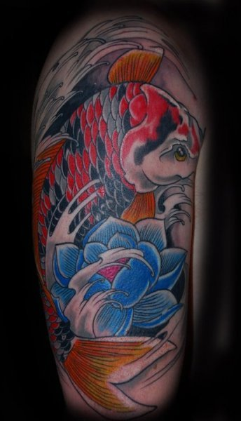 colourful tattoos