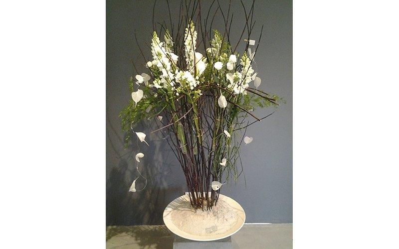 composizione fiori freschi
