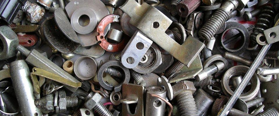 non-ferrous metal pieces