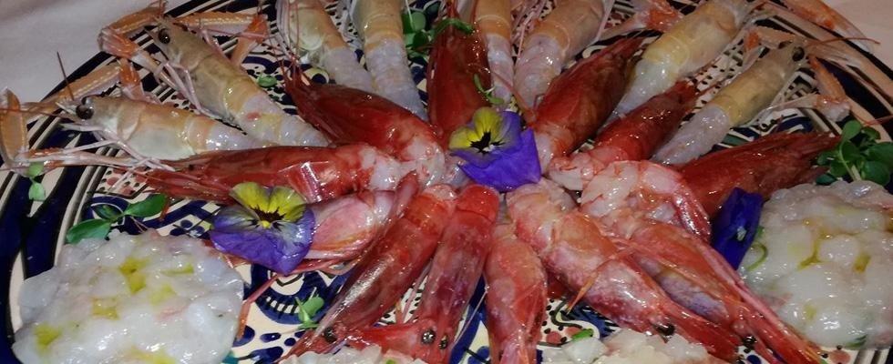 piatto di pesce misto marinato