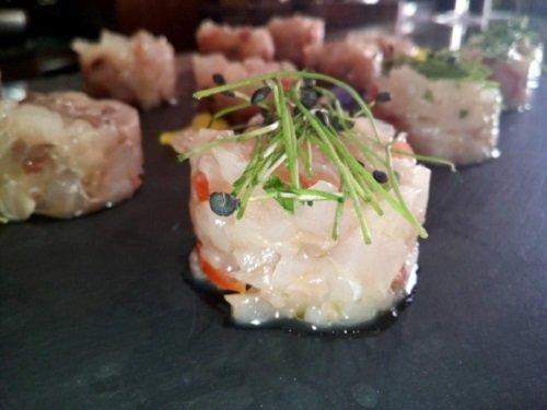 pesce crudo marinato