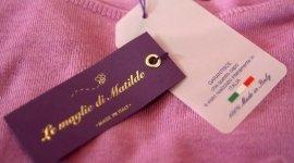 rifiniture maglie, maglieria di alta qualità, etichetta abbigliamento