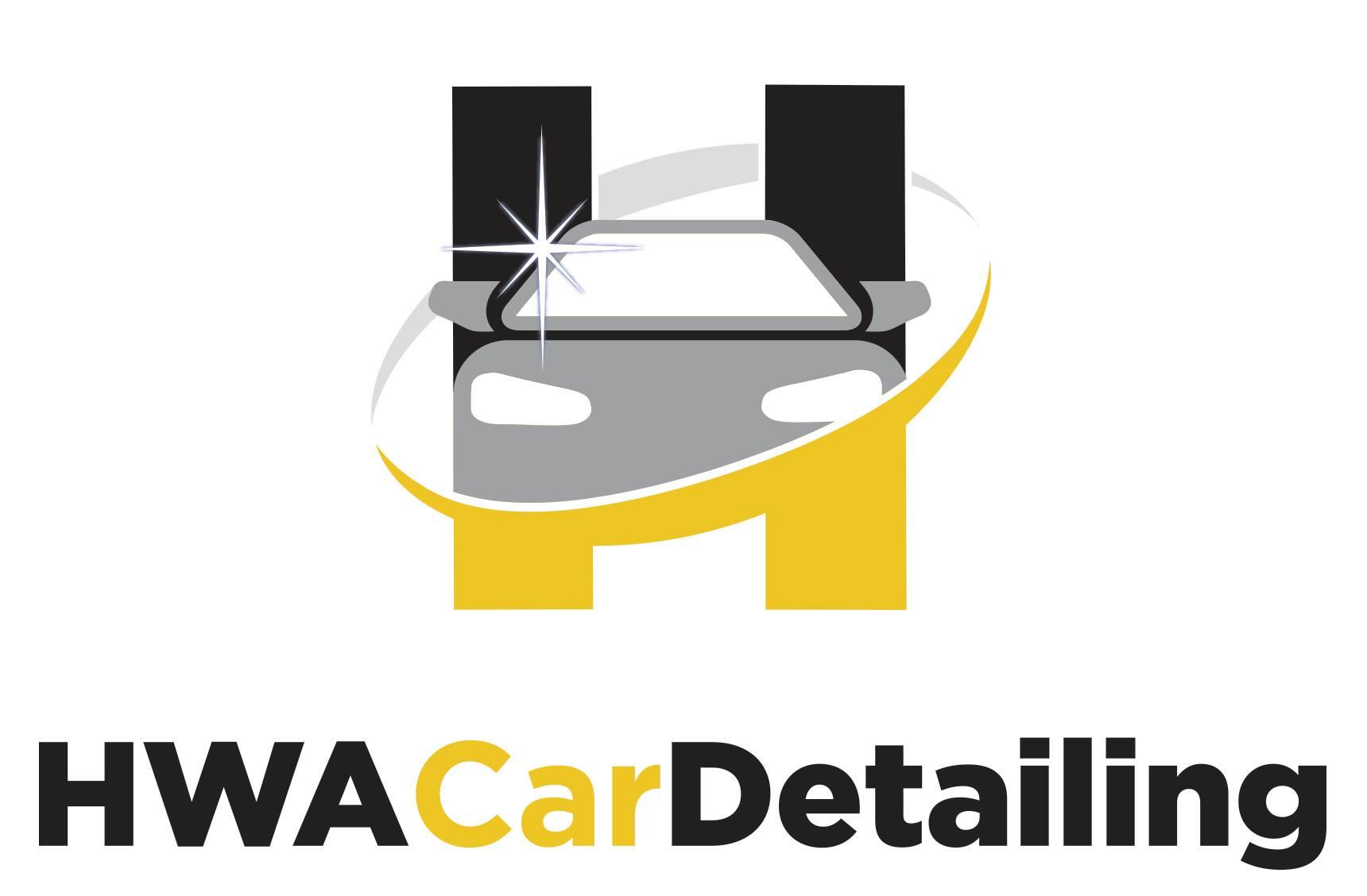 HWA car detailing logo