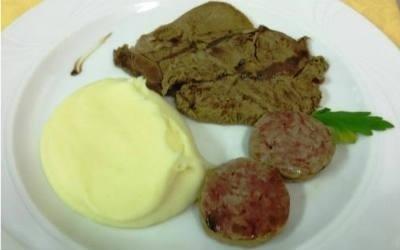 Carne e purè
