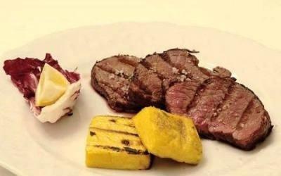 Carne e polenta