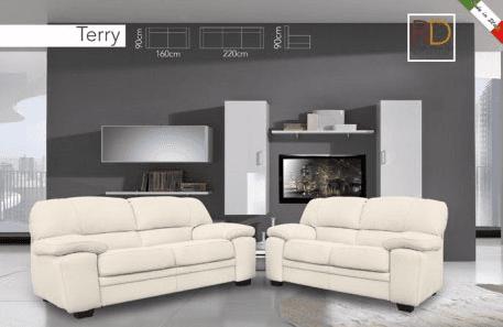 due divani di color bianco