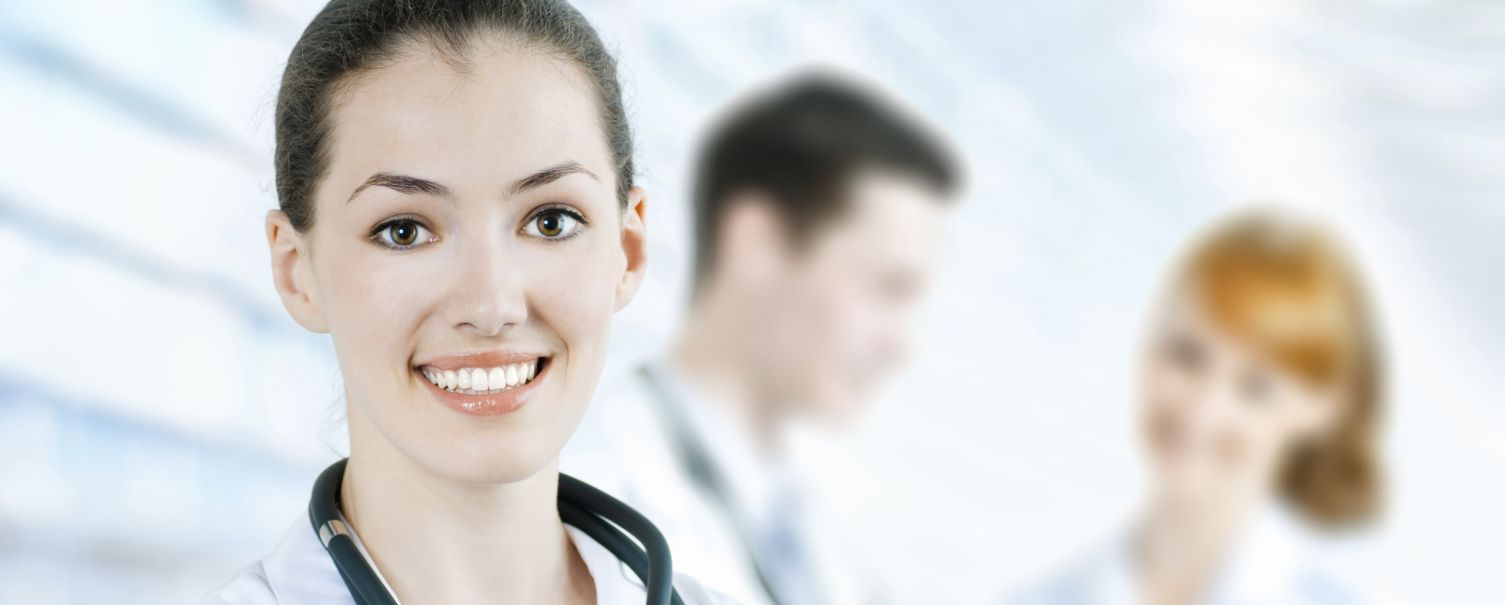 Smiling family physician in Somerset, KY