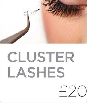 cluster lashes promo