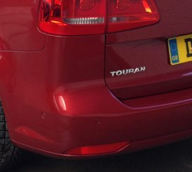 Touran red car