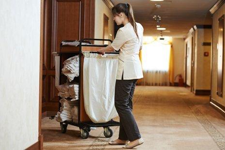 pulizia camere di albergo