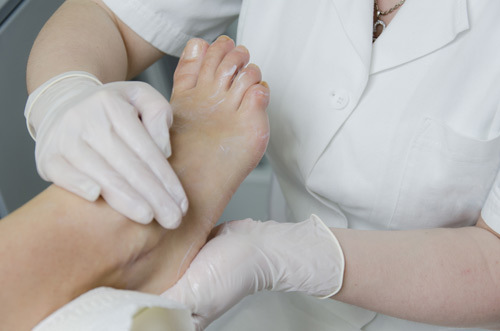 Diabetic foot care services in Fairport, NY