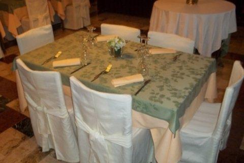 Tavolo in sala interna