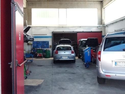 interno del garaje