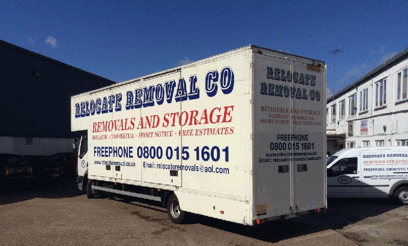 large removals van