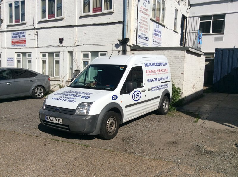 Small Relocate Removals van