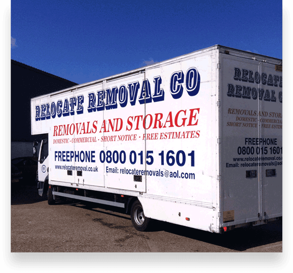 Relocate Removals lorry