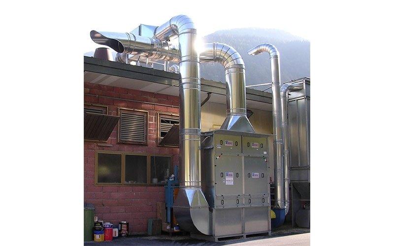 filtrazione a carboni attivi