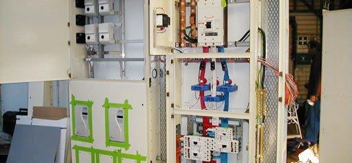 Electricity control room