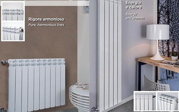 Radiatori verticali