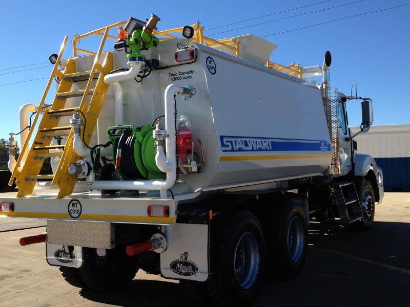 Sandblast truck in Perth