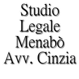 MENABO' AVV. CINZIA