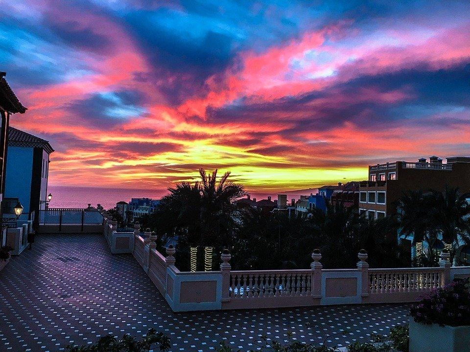 malaga-sunset-view
