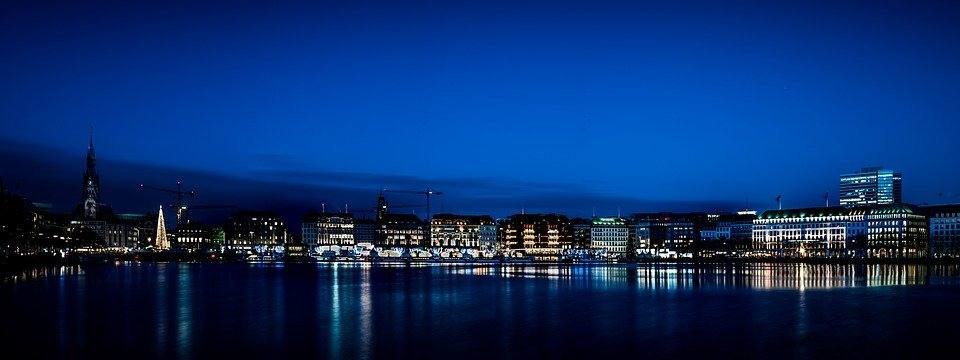 hamburg-night