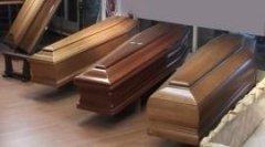 Cofani funebri  in varie essenze Agenzia Funebre Cabras