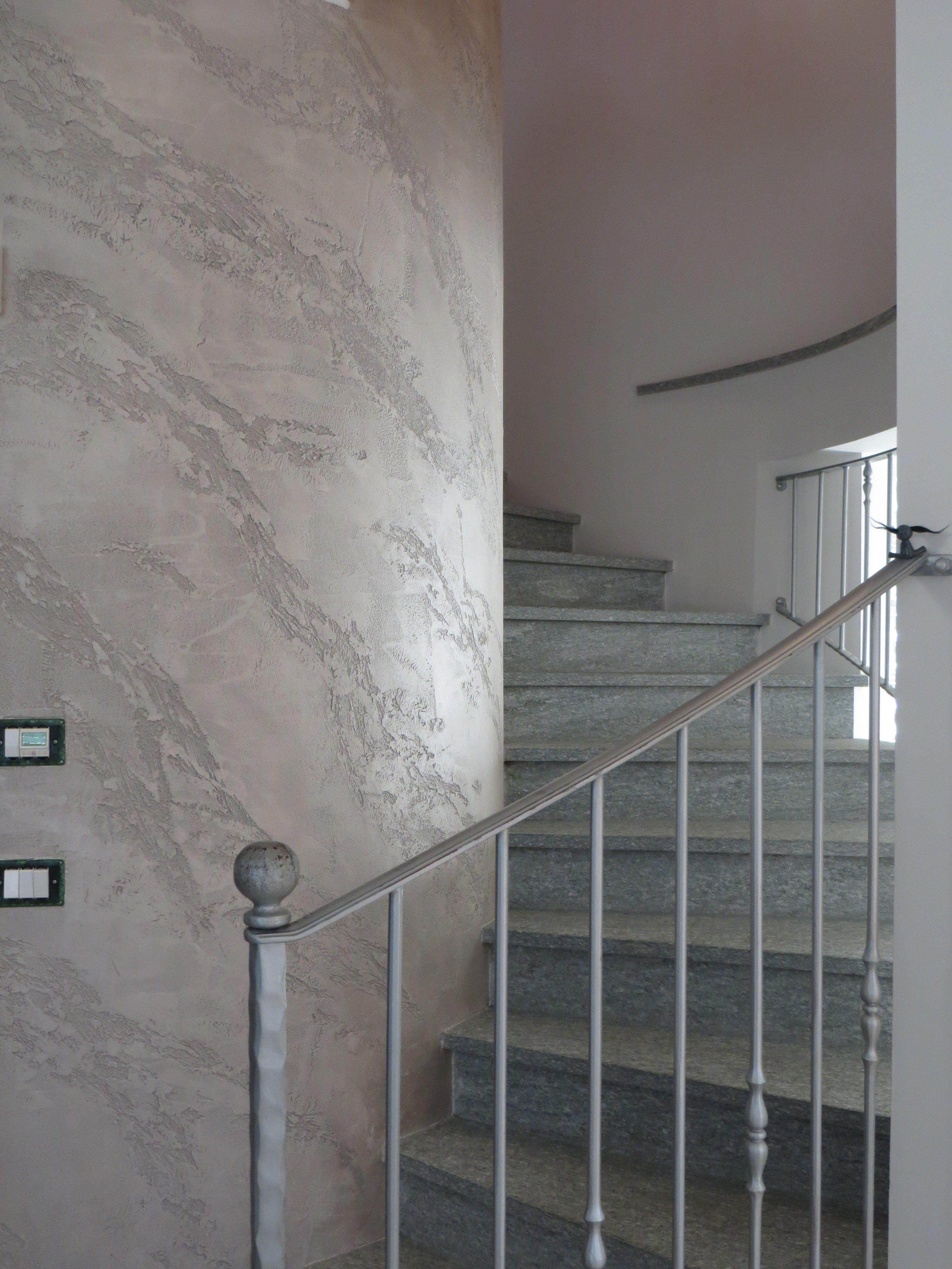 scala interna di un appartamento